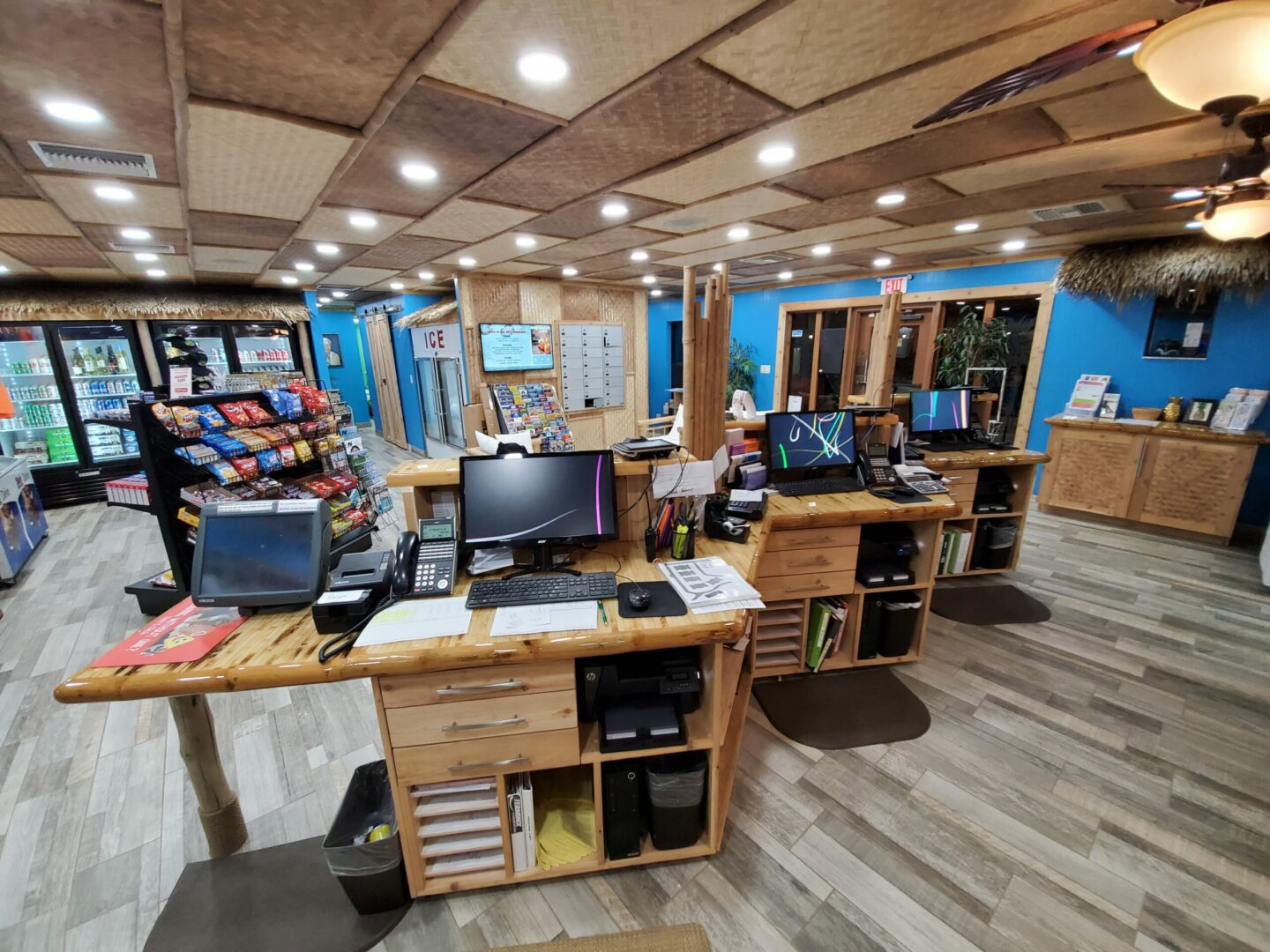 Cypress Cove  Office remodel